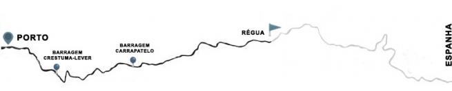Cruzeiro Porto - Régua - Porto