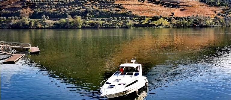 Cruzeiro em Iate Refúgio do Douro