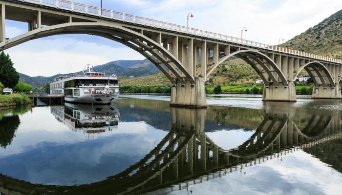 Barca D'Alva é a localidade que delimita o Rio Douro em território português fazendo fronteira com Espanha