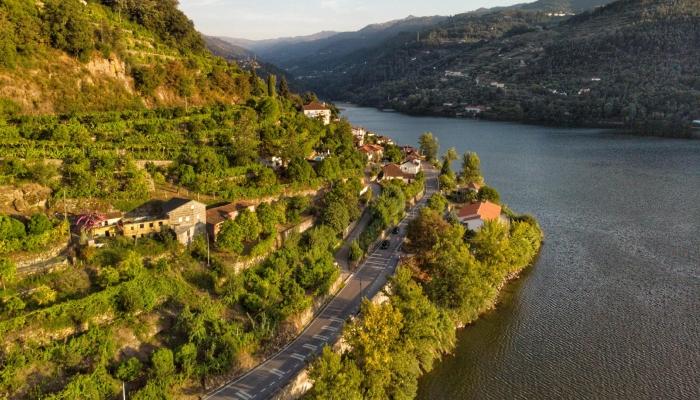 A emblemática Região do Douro, considerada Património Miundial da Humanidade