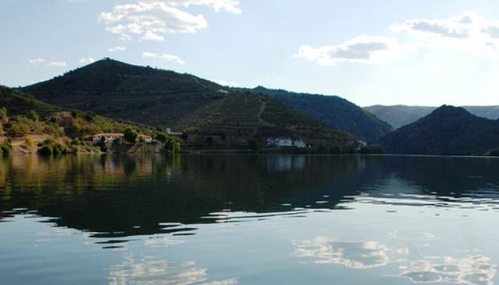 O percurso entre o Porto e o Pinhão é um dos troços mais aclamados do Rio Douro
