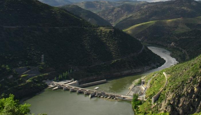 A Barragem da Valeira foi construida em 1976.