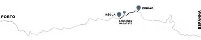 Cruzeiro Régua-Pinhão-Régua (com almoço)