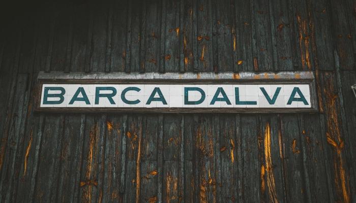 A Estação Ferroviária de Barca D'Alva encontra-se encerrada desde 1987