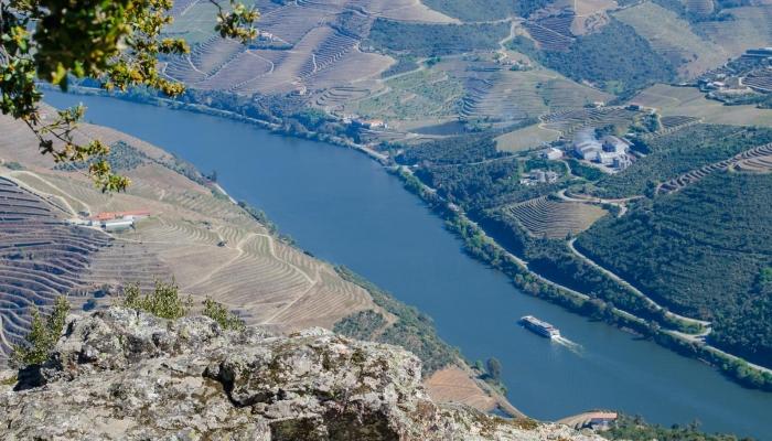 O seu Miradouro de São Leonardo de Galafura permite uma vista incrível desta região do Douro