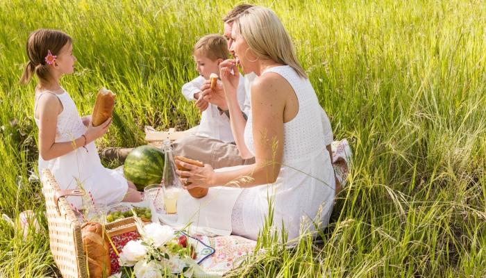 Junte a família num picnic nas margens do Rio Douro