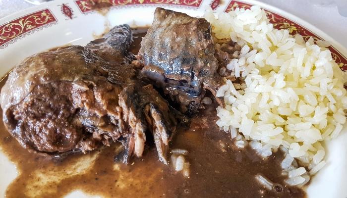 O arroz de lampreia é um prato muito típico da região duriense