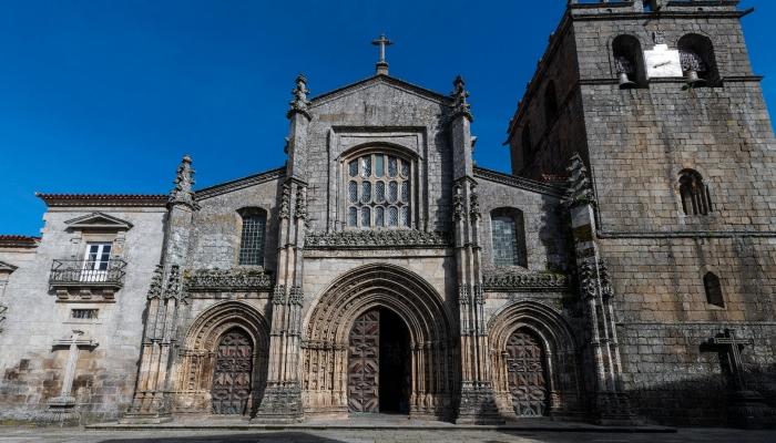 A Catedral de Lamego é um dos monumentos mais imponentes da cidade